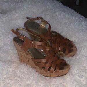 Guess wedge heels